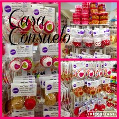Cual vas a elegir? Capacillos para cupcakes y mini cupcakes con motivo de San Valentin