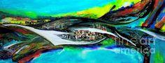 Mystery City~ElsaDe Paintings