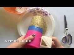 How to Glitter Dip a Tumbler | The Chaotically Creative Mom