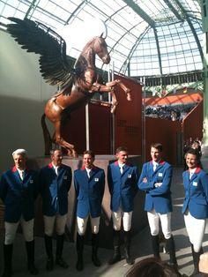Belle brochette de champions au Grand palais !