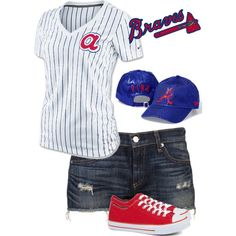 Braves Baseball I need one of these outfits :)