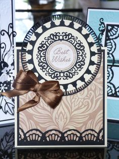 'Circle' - 3 in 1 Tattered Lace Die. Visit tatteredlace.co.uk for available stockists.