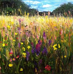 summer, Oil painting by Alena Rumak   Artfinder