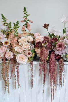 This fall, it's all about amaranth. Here's how to find this trendy flower and ideas on using it in seasonal bouquets and arrangements. Fall Flowers, Dried Flowers, Beautiful Flowers, Amaranth Flower, Floral Wedding, Wedding Flowers, Fall Flower Arrangements, Balloon Flowers, Flower Studio