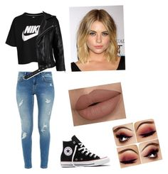 """Untitled #12"" by julle-fangirl on Polyvore featuring NIKE, Ted Baker, Converse and VIPARO"