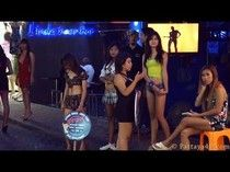 Pattaya 2013 Walking Street Nightlife Girls, Agogo and Beer Bars Part 1