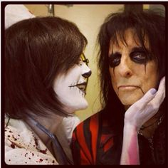 Alice Cooper with Calico Cooper!!!
