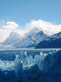 Blue ice - Magallanes y Antartica Chilena, Chile.