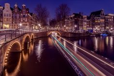 Amsterdam night  by Angel  Flores on 500px