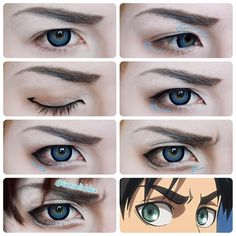 Eren jaeger makeup - This should come in handy.