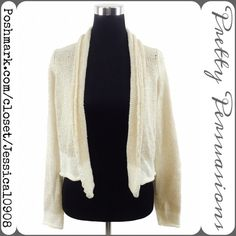 Michael Stars Open Front Knit Cardigan Beautiful Michael Stars cardigan featuring soft material with a light shimmer to it. Perfect for layering! Matches anything. Labeled Size: 1 ~ Best fits a Small. Measurements available upon request. No pp or trades. Bundle discounts available. Xo Michael Stars Sweaters Cardigans