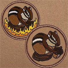 Chipmunk Patrol Patch (#375,375A)