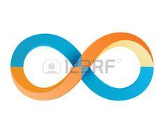 infinity symbols 1 Stock Photo