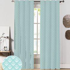 NECR Print Wild Meadow Curtain Panel