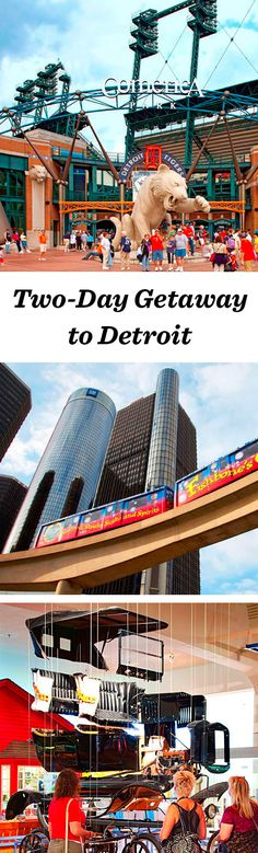 Pro sports teams and musical and cultural icons mingle with up-and-coming businesses that feed a can-do spirit in Detroit: http://www.midwestliving.com/travel/michigan/detroit/two-day-getaway-to-detroit/ #detroit #michigan