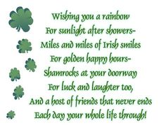 Irish residents here in the Upstate, … st patricks day poem Did you know he wasn't even born in Ireland? Description from valentinexday.com. I searched for this on bing.com/images