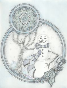 'A Snowman's Greeting'