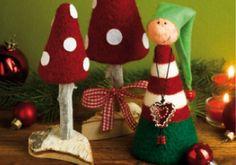 Weihnachtliche Filzideen