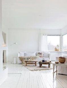 Scandinavian home interior designs Minimalism Interior, Home Living Room, Interior, Home Decor, House Interior, Norwegian House, White Interior, Interior Design, Home And Living