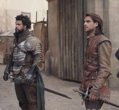 Howard Charles, Luke Pasqualino / Porthos, D'Artagnan, The Musketeers, series 3