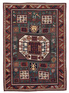 Tappeto caucasico Kasak Karachop, fine XIX secolo from cambi casa d'este