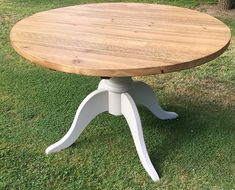 One of our four leg pedestal sets in tulipwood on a table created by Thanks for the images. Oak Table Top, Pine Table, Dining Table Legs, A Table, Table Bases, Woodworking Terms, Woodworking Blueprints, Woodworking Lathe, Woodworking Workshop