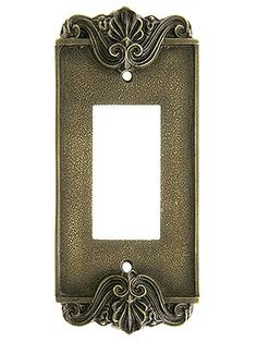 Antique Decorative Switchplates - and these for those FUGLY GFIs!