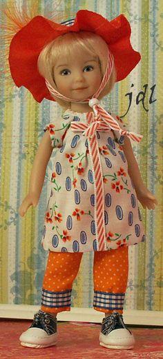 "Heartstring 8"" Doll by JDL Doll Clothes Doll Artist Dianna Effner jdldollclothes.com"