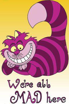 Cheshire cat, my favorite character
