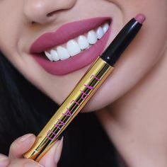 Lipland Cosmetics @liplandcosmetics lip crayon in Andromeda #lip #makeup #lipstick #lipliner