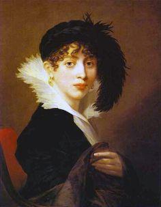 Портрет графини Софьи Строгановых на Монье, Жан-Лоран, 1808