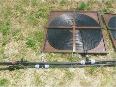 Image of: DIY Solar Pool Heater Picture
