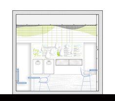 Froyo Yogurteria / Ahylo Studio Corte