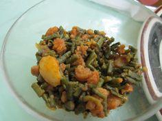 Fried bora, aloo, and shrimp