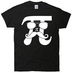 Mustache Pi Face T-Shirt