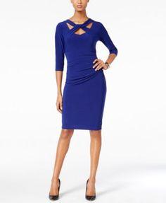 INC International Concepts Cutout Sheath Dress, Only at Macy's