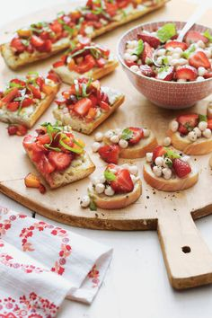 30 Appetizer Recipes That Will Cure Your Spring Fever | Spring-ready appetizers that showcase the very best of the season. After a long winter, we're all looking forward to dining al fresco and hosting guests outdoors for backyard barbecue bashes and family get-togethers. As you're starting to venture outside more to soak up some sun for Easter dinner, Mother's Day brunch, a bridal shower, or upcoming graduation this spring and summer, don't neglect the most delicious start to any…