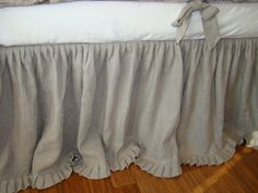 Your place to buy and sell all things handmade Crib Rail, Baby Crib Bedding, Dust Ruffle, Crib Skirts, French Grey, Window Dressings, Bird Prints, Window Treatments, Linens