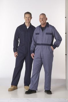 Prevent embarrassing wardrobe malfunctions while keeping your clothes clean on any job site. The coveralls are made with heavy-duty cotton twill. Bib Overalls, Back Patch, Work Shirts, Metal Buttons, Work Pants, Work Wear, Workshop, Canada, Overalls