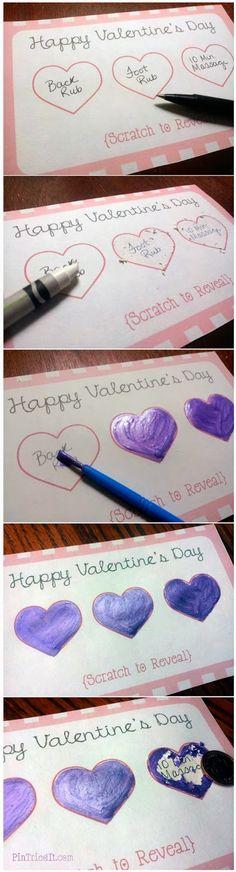 Tarjeta romántica de regalo