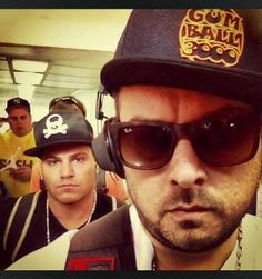 DJ Fingaz & Ronnie Magro (Jersey Shore) rocking Australia on a recent Tour.