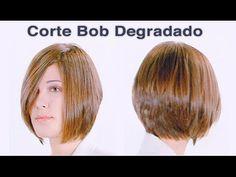 Corte Degradado Bob - YouTube