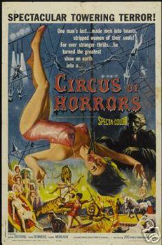 vintage horror poster - Szukaj w Google