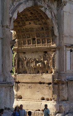 Forum Romanum, Titusbogen (Roman Forum, Arch of Titus), Rome, Italy