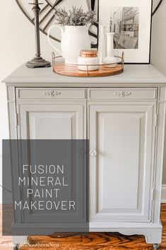 Hey friends I'm at it again. Come check out my latest Fusion Mineral Paint Makeover! Iron Patio Furniture, Dresser Furniture, Paint Furniture, Furniture Refinishing, Farmhouse Furniture, Furniture Ideas, Mineral Paint, Mineral Fusion Paint, Diy Old Furniture Makeover