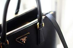 black Leather Tote Bag  #bag #leather bag  # tote bag #women #fashion #style #like #beautiful #streetstyle #bags and purses #handbag #luxurybags #prada