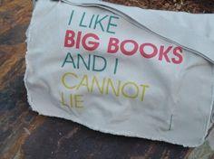 I Like Big Books And I Cannot Lie™ original design by Pamela Fugate Designs with free US shipping