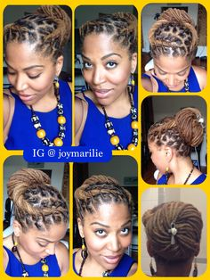 Professional/Afrocentric Loc style.