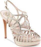vince camuto shoes janene platform evening sandals