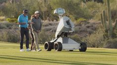 LDRIC The Golf Robot - In case your Caddy talks too much? ;-)